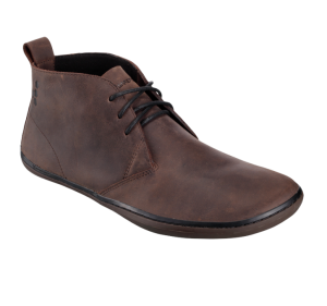 Vivobarefoot Gobi Dark Brown Leather