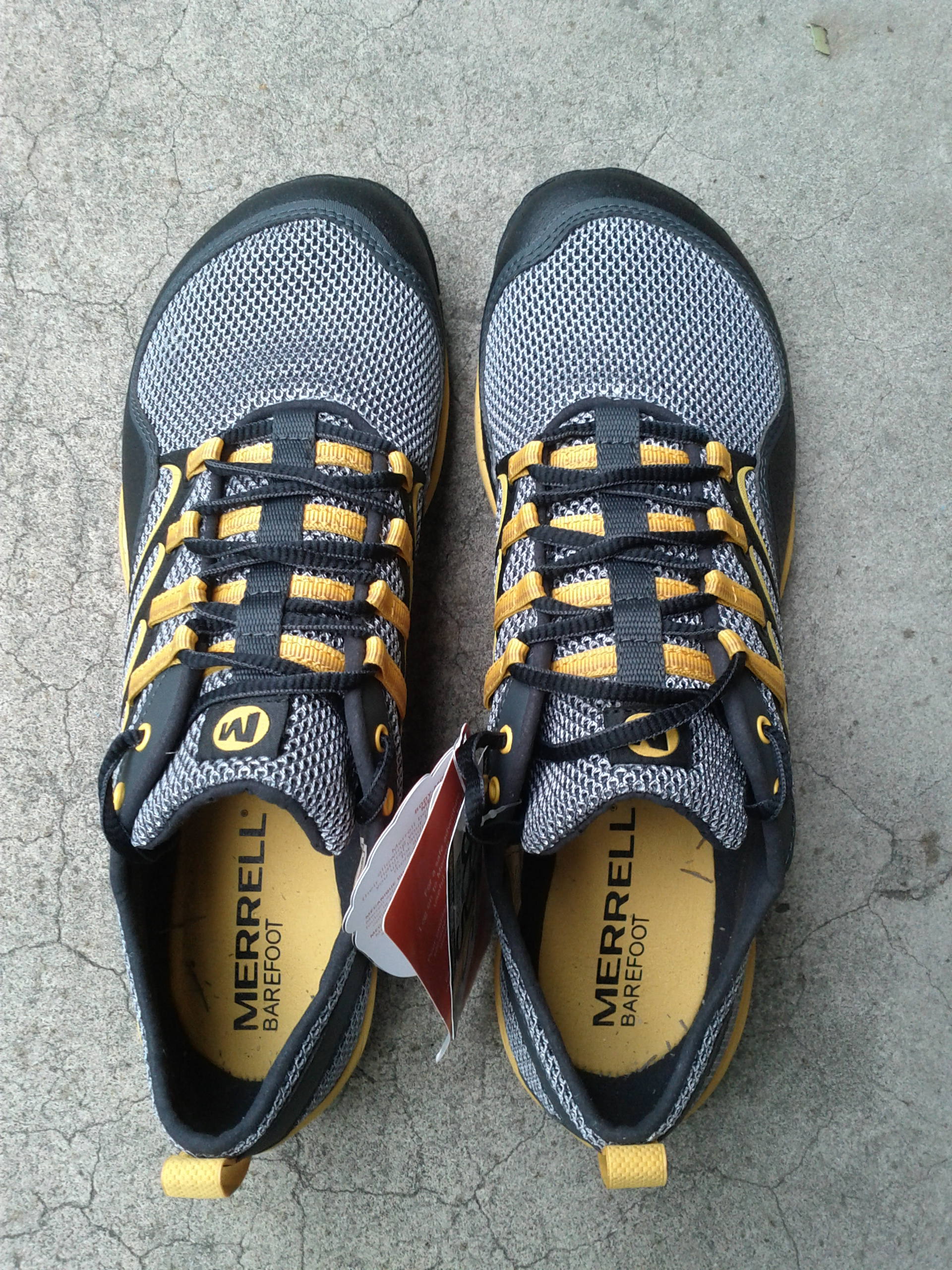 Large Toe Box Trail Running Shoes